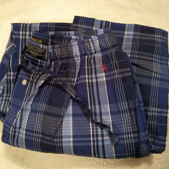 Polo By Ralph Lauren Other Polo Pajama Pants Mens Medium Poshmark